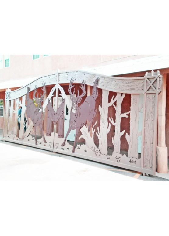 Купить Ворота , ограды , калитки и таблички - Авторские работы (Артикул 508)