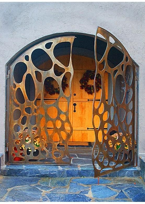 Купить Ворота , ограды , калитки и таблички - Авторские работы (Артикул 430)