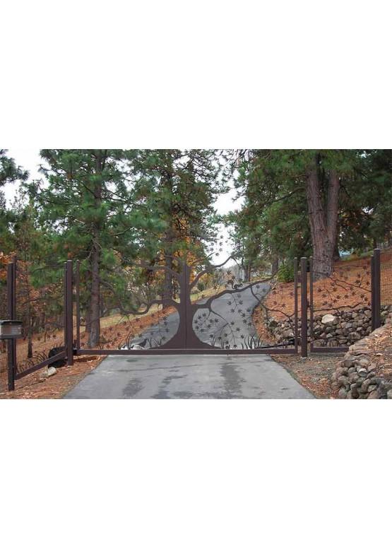 Купить Ворота , ограды , калитки и таблички - Авторские работы (Артикул 511)