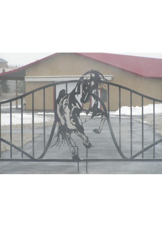 Купить Ворота , ограды , калитки и таблички - Авторские работы (Артикул 512)