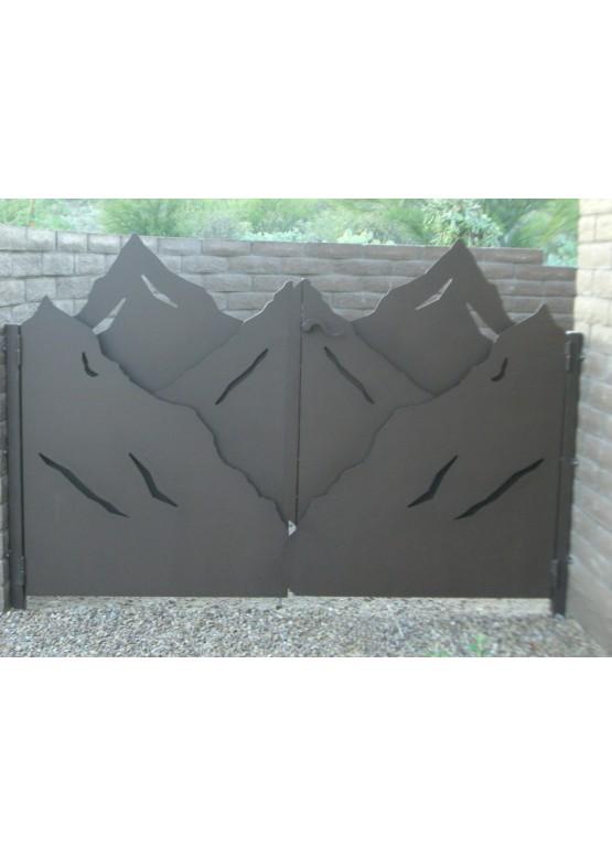 Купить Ворота , ограды , калитки и таблички - Авторские работы (Артикул 513)