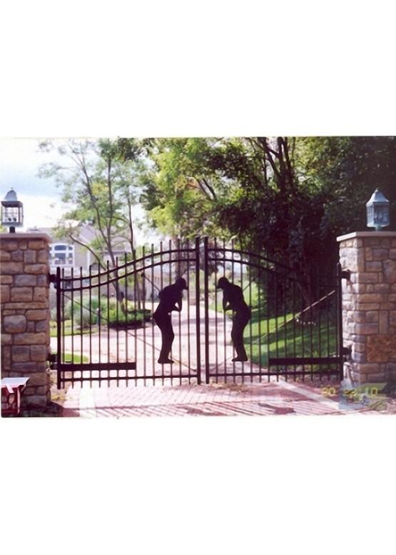 Купить Ворота , ограды , калитки и таблички - Авторские работы (Артикул 514)