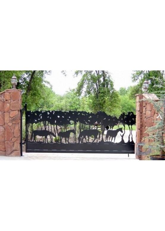 Купить Ворота , ограды , калитки и таблички - Авторские работы (Артикул 515)