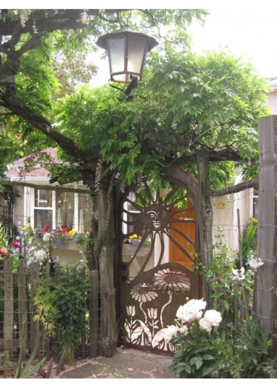 Купить Ворота , ограды , калитки и таблички - Авторские работы (Артикул 517)