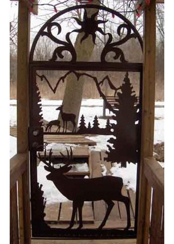 Купить Ворота , ограды , калитки и таблички - Авторские работы (Артикул 519)